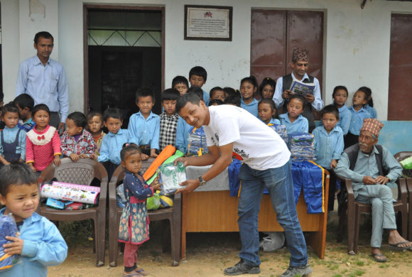 3rd Phase of supporting the children of Nepal