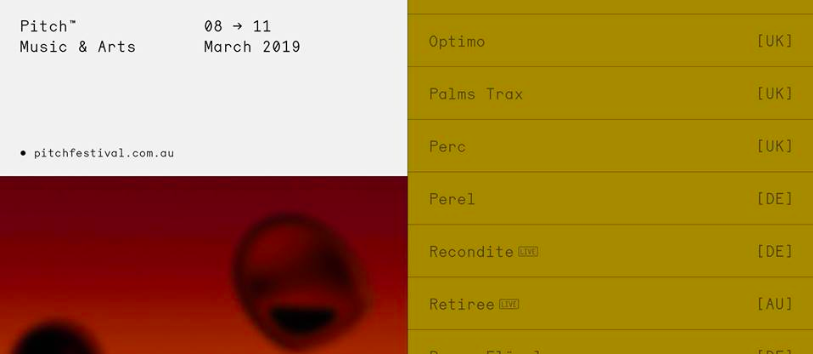 NEXT AT: Pitch Music & Arts – Mar 2019