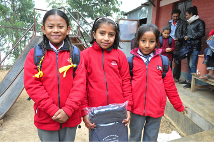 Our 2019 support of the children of Nepal